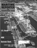 Maritime Reporter Magazine Cover Aug 2001 -