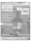 Maritime Reporter Magazine Cover Oct 2001 -