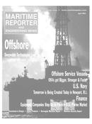 Maritime Reporter Magazine Cover Apr 2002 -