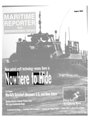 Maritime Reporter Magazine Cover Aug 2002 -