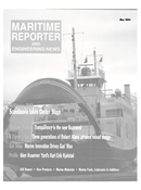 Maritime Reporter Magazine Cover May 2003 -