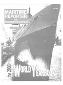Maritime Reporter Magazine Cover Jun 2003 -