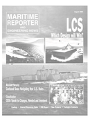 Maritime Reporter Magazine Cover Aug 2003 -
