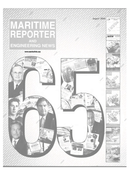 Maritime Reporter Magazine Cover Aug 2004 - 65th Anniversary Edition