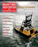 Maritime Reporter Magazine Cover Apr 2014 - Offshore Edition