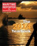 Maritime Reporter Magazine Cover Jun 2014 - Annual World Yearbook