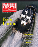 Maritime Reporter Magazine Cover May 2015 - The Marine Propulsion Edition
