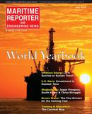 Maritime Reporter Magazine Cover Jun 2016 - Annual World Yearbook