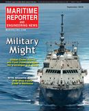 Maritime Reporter Magazine Cover Sep 2016 - Maritime & Ship Security