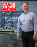 Maritime Reporter Magazine Cover Nov 2017 - The Workboat Edition