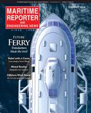 Maritime Reporter Magazine Cover Feb 2019 - Ferry Builders