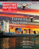 Maritime Reporter Magazine Cover May 2019 - Propulsion Annual - Green Marine Tech