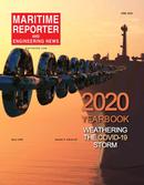 Maritime Reporter Magazine Cover Jun 2020 - 2020 Yearbook