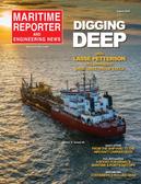 Maritime Reporter Magazine Cover Aug 2020 - The Shipyard Edition