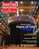 Maritime Reporter Magazine Cover Apr 2016 - The Offshore Annual