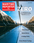 Maritime Reporter Magazine Cover Jun 2018 - Green Marine Technology