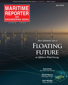 Maritime Reporter Magazine Cover Apr 2019 - Navies of the World