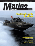 Marine News Magazine Cover Dec 2013 - Innovative Products & Boats of 2012