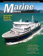 Marine News Magazine Cover Dec 2018 - Innovative Products & Boats