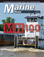Marine News Magazine Cover Aug 2019 - MN 100 Market Leaders