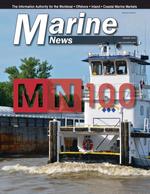 Marine News Magazine Cover Aug 2019 - MN 100 Market Leaders