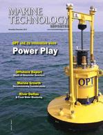 Marine Technology Magazine Cover Nov 2015 -