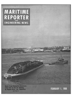 Maritime Reporter Magazine Cover Feb 1968 -