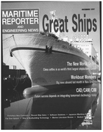 Maritime Reporter Magazine Cover Dec 1997 -