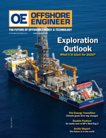 Offshore Engineer Magazine Cover Nov 2019 - Exploration Outlook