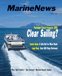 Marine News Magazine Cover Jan 2005 -