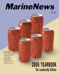 Marine News Magazine Cover Jun 2005 -
