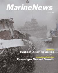 Marine News Magazine Cover Jan 2006 - North American Passenger Vessel Report