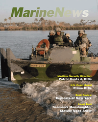 Marine News Magazine Cover Mar 2006 - United States Coast Guard Edition