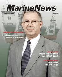 Marine News Magazine Cover May 2006 - The Combat Craft Annual