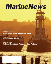 "Marine News Magazine Cover Jun 2006 - Fourth Annual ""Geo Six Pack"""