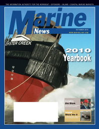 Marine News Magazine Cover Oct 2010 - Annual World Yearbook