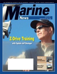Marine News Magazine Cover Mar 2011 - Marine Training & Education Edition