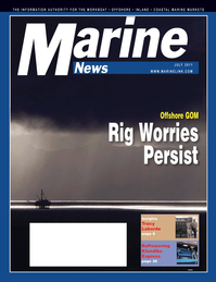 Marine News Magazine Cover Jul 2011 - Workboat Power