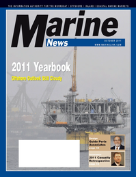 Marine News Magazine Cover Oct 2011 - The Yearbook