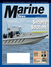 Marine News Magazine Cover Mar 2012 - Training & Education