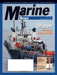 Marine News Magazine Cover Apr 2012 - Offshore Service Operators