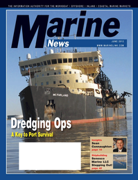 Marine News Magazine Cover Jun 2012 - Dredging & Marine Construction