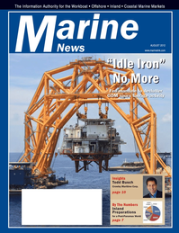Marine News Magazine Cover Aug 2012 - Salvage & Recovery