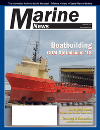Marine News Magazine Cover Jan 2013 - Training and Education