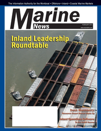Marine News Magazine Cover Feb 2013 - Bulk Transport Leadership Roundtable