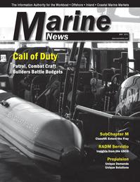 Marine News Magazine Cover May 2013 - Combat & Patrol Craft Annual