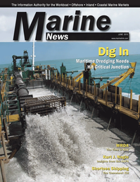 Marine News Magazine Cover Jun 2013 - Dredging & Marine Construction