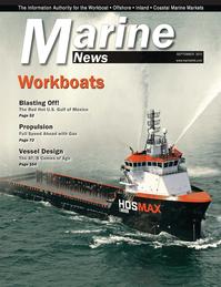 Marine News Magazine Cover Sep 2013 - Workboat Annual