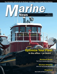 Marine News Magazine Cover Mar 2014 - Fleet & Vessel Optimization