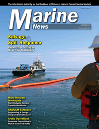 Marine News Magazine Cover Oct 2017 - Salvage & Spill Response